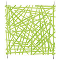 Διακόσμηση Europalms Raumteiler Rod grün 4x