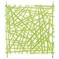Decoración Europalms Raumteiler Rod grün 4x