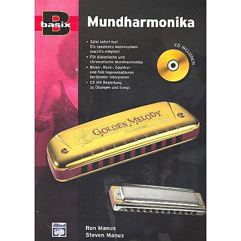 Alfred KDM Basix Mundharmonika (+CD)