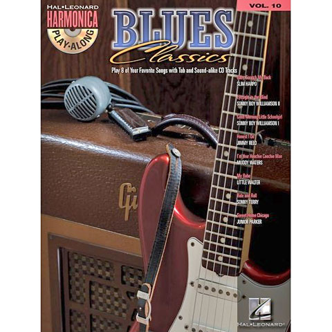 Hal Leonard Harmonica Play-Along Vol.10 - Blues Classics
