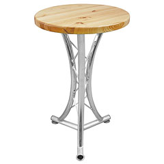 Alutruss Bistro Table, curved « Mobilier