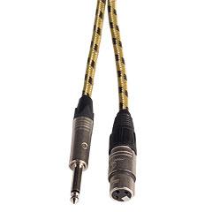 AudioTeknik Harpers Cable Vintage « Câble microphone