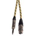 Microfoonkabel AudioTeknik Harpers Cable Vintage