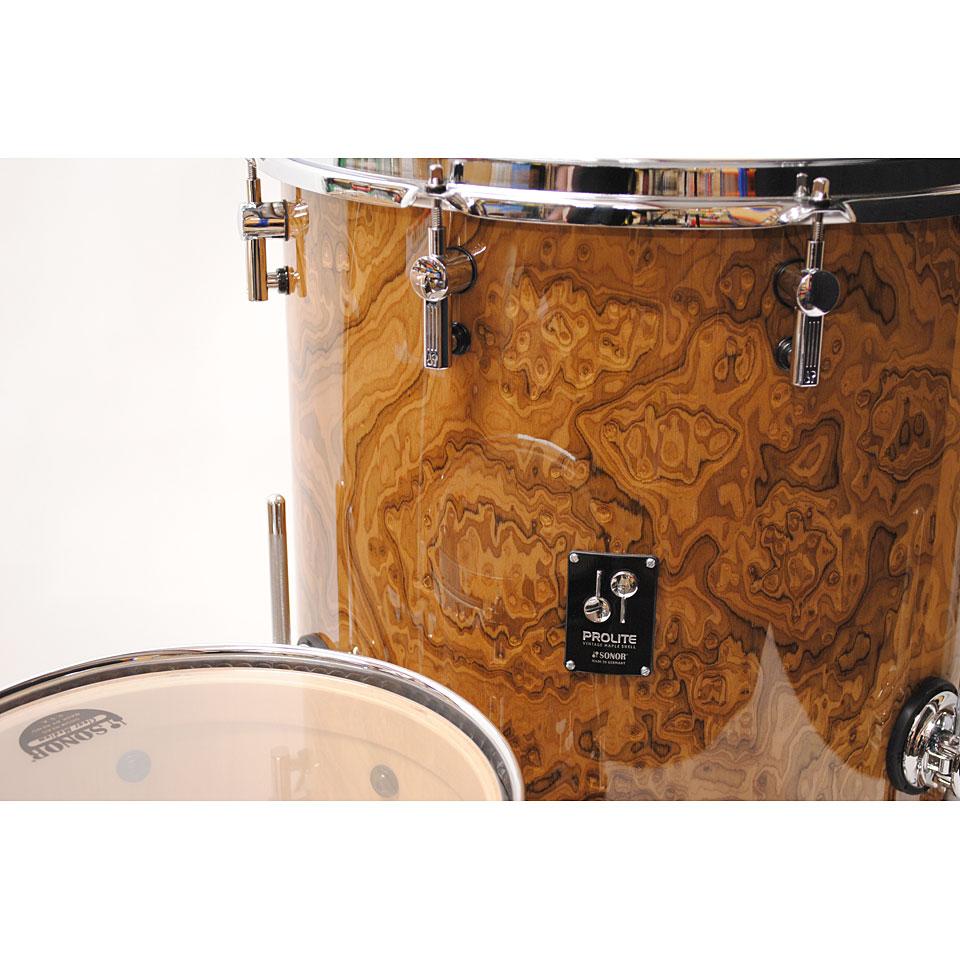 Sonor Prolite Pl12 Stage3 Chocolate Burl 171 Schlagzeug