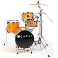 Schlagzeug Sakae Pac-D Orange Compact Drumset, Drums, Drums/Percussion