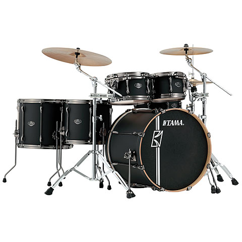 Tama Superstar Custom Hyper Drive 22  Flat Black