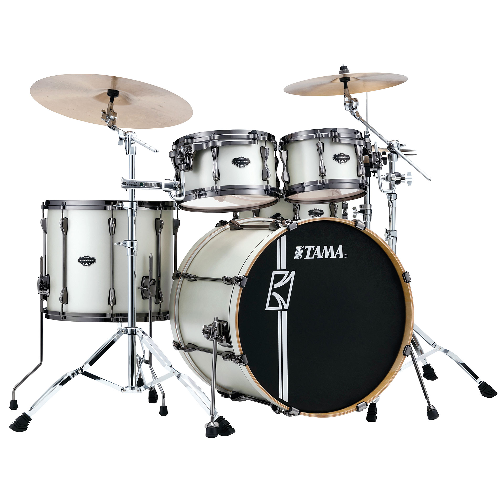 Drum Kit Tama Superstar Custom 22 Satin Arctic Pear ... e1df86c24