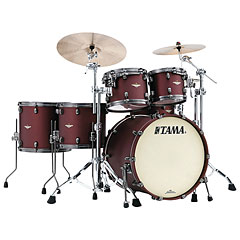 "Tama Starclassic Bubinga 22"" Flat Burgundy Metallic « Drum Kit"