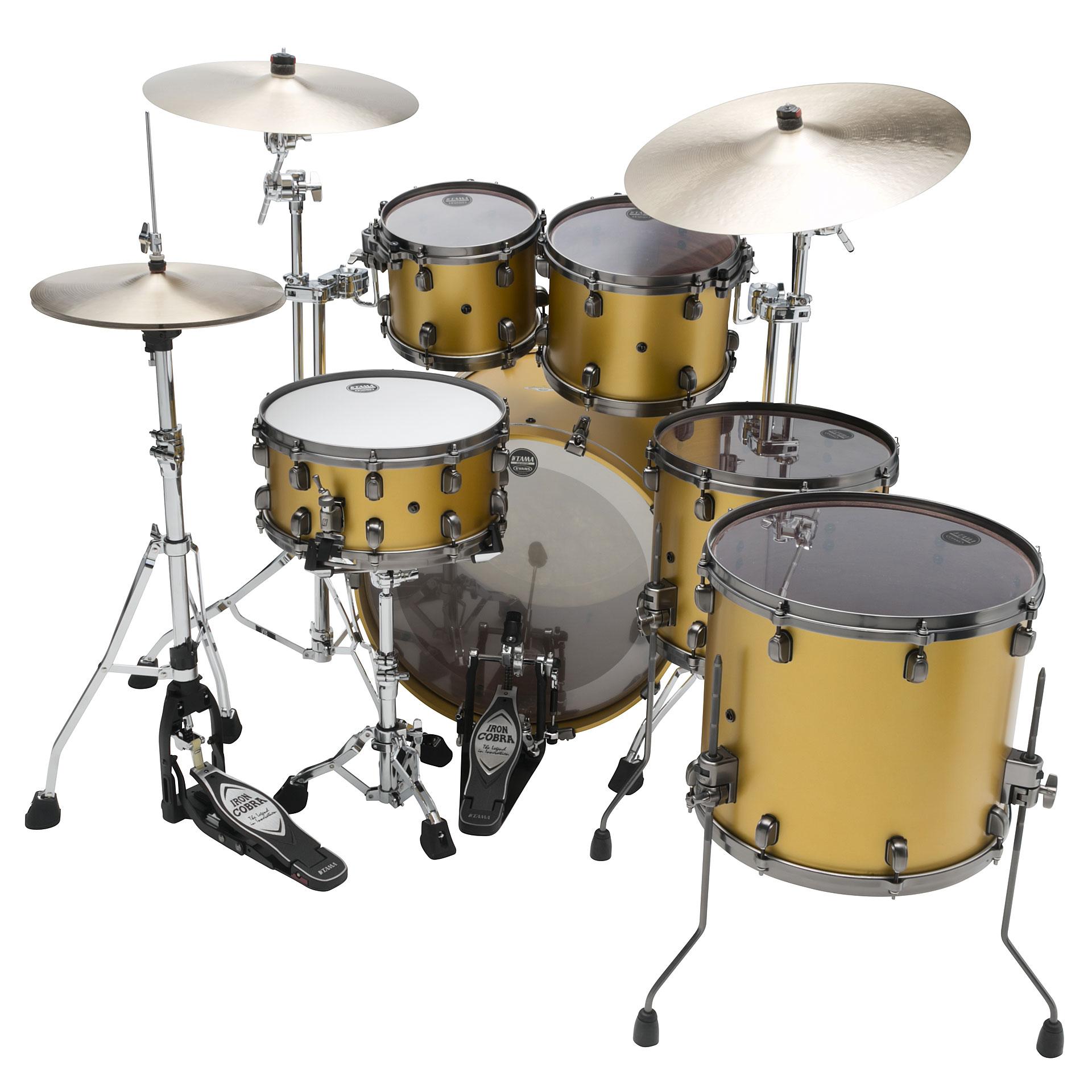 tama starclassic bubinga 22 satin aztec gold metallic drum kit. Black Bedroom Furniture Sets. Home Design Ideas