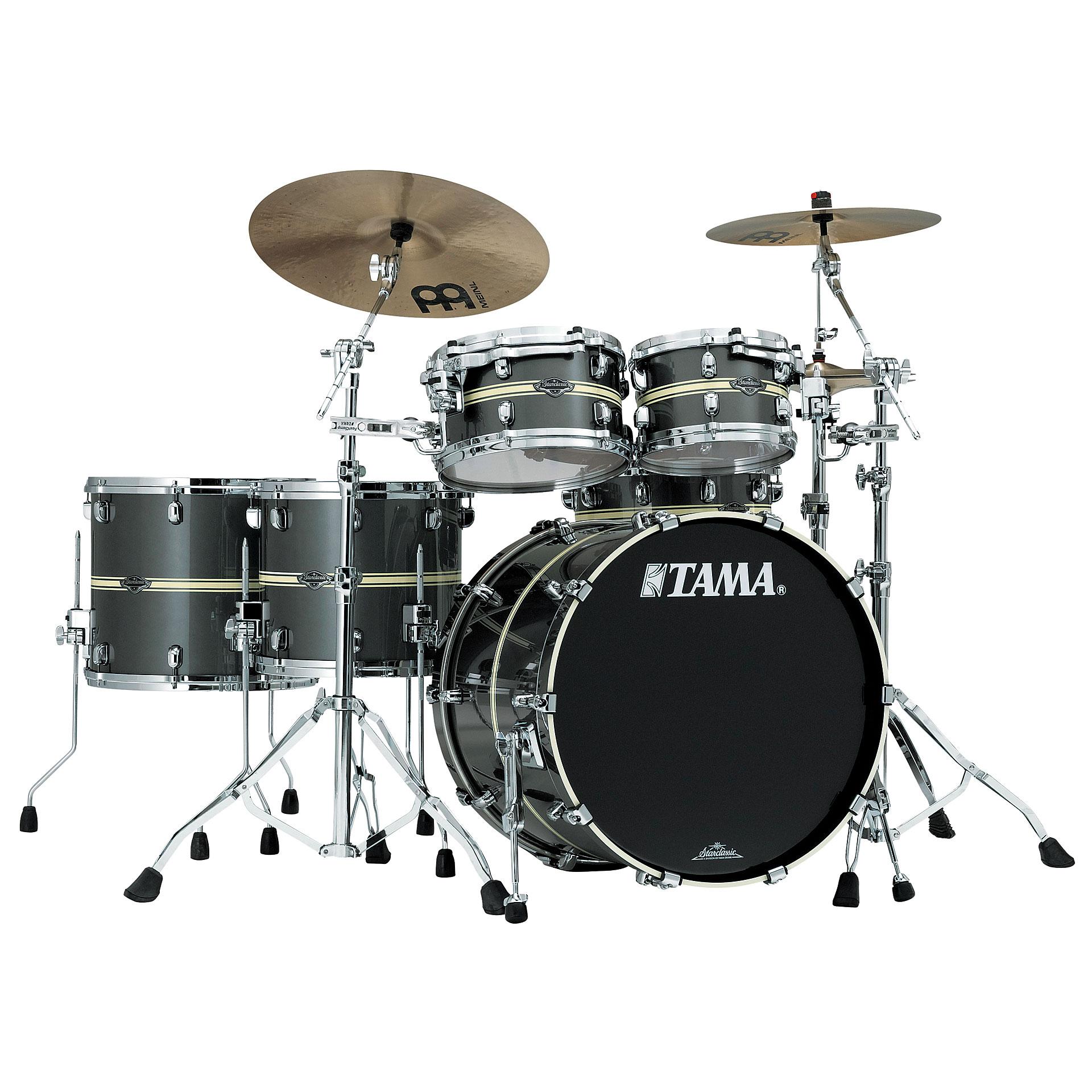 Tama starclassic performer 22 gun metal classic stripe for Classic house drums