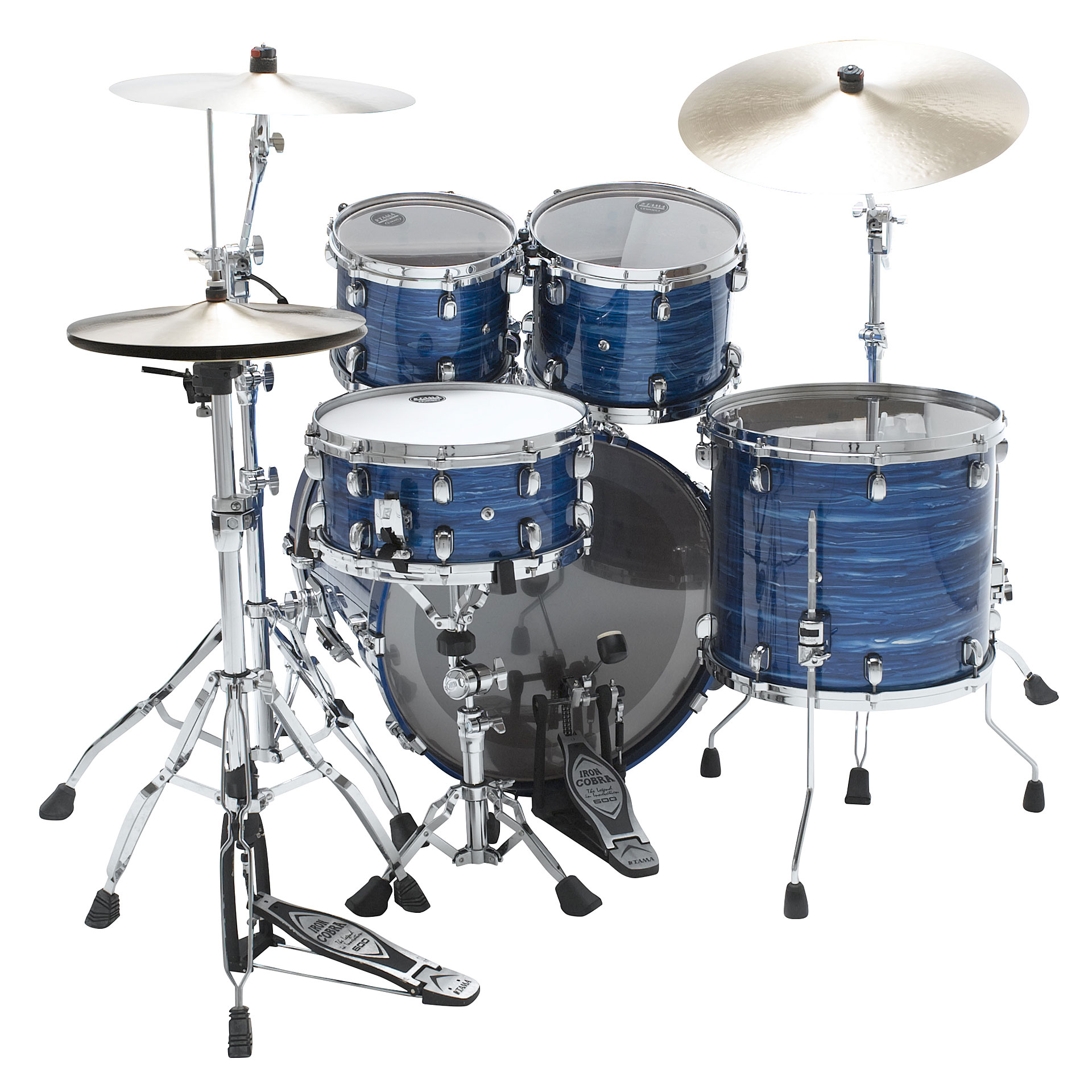 Tama Starclassic Performer 22 Quot Lacquer Ocean Blue Ripple