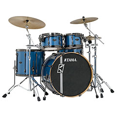 "Tama Superstar Custom 22"" Vintage Blue Meta « Batterie acoustique"