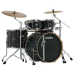 "Tama Superstar Custom 22"" Flat Black « Drum Kit"