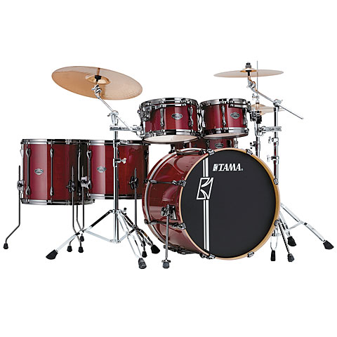 Tama Superstar Custom 22  Classic Cherry Wine Shellset