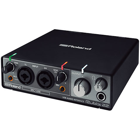 Interface de audio Roland Rubix22