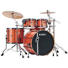"Tama Superstar 22"" Bright Orange Sparkle « Batterie acoustique"