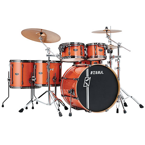Tama Superstar 22  Bright Orange Sparkle