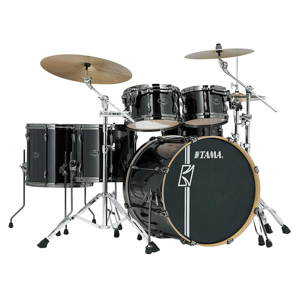 Akustikdrums - Tama Superstar 22 Brushed Charcoal Black Schlagzeug - Onlineshop Musik Produktiv