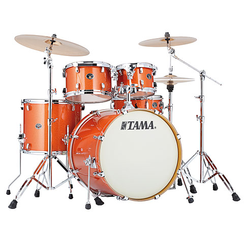 Tama Silverstar 22  Bright Orange Sparkle