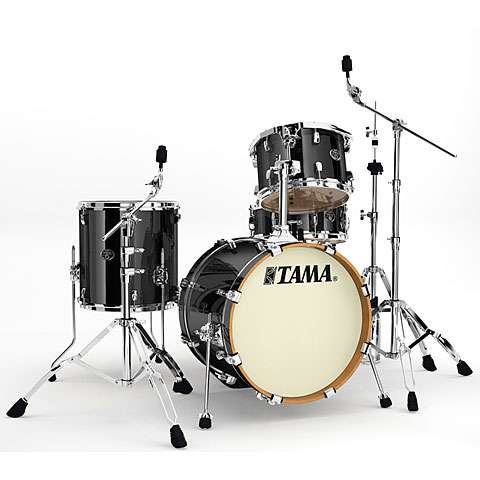 Tama Silverstar 18  Brushed Charcoal Black