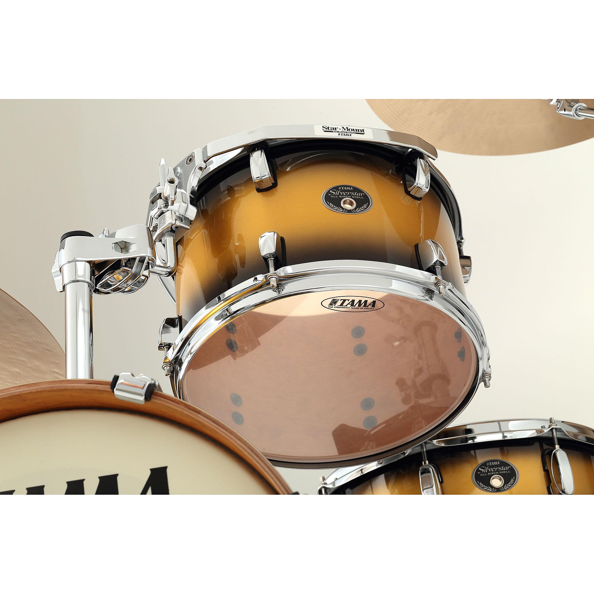 "Tama 18 Floor Tom: Tama Silverstar 18"" Vintage Gold Duco « Drum Kit"