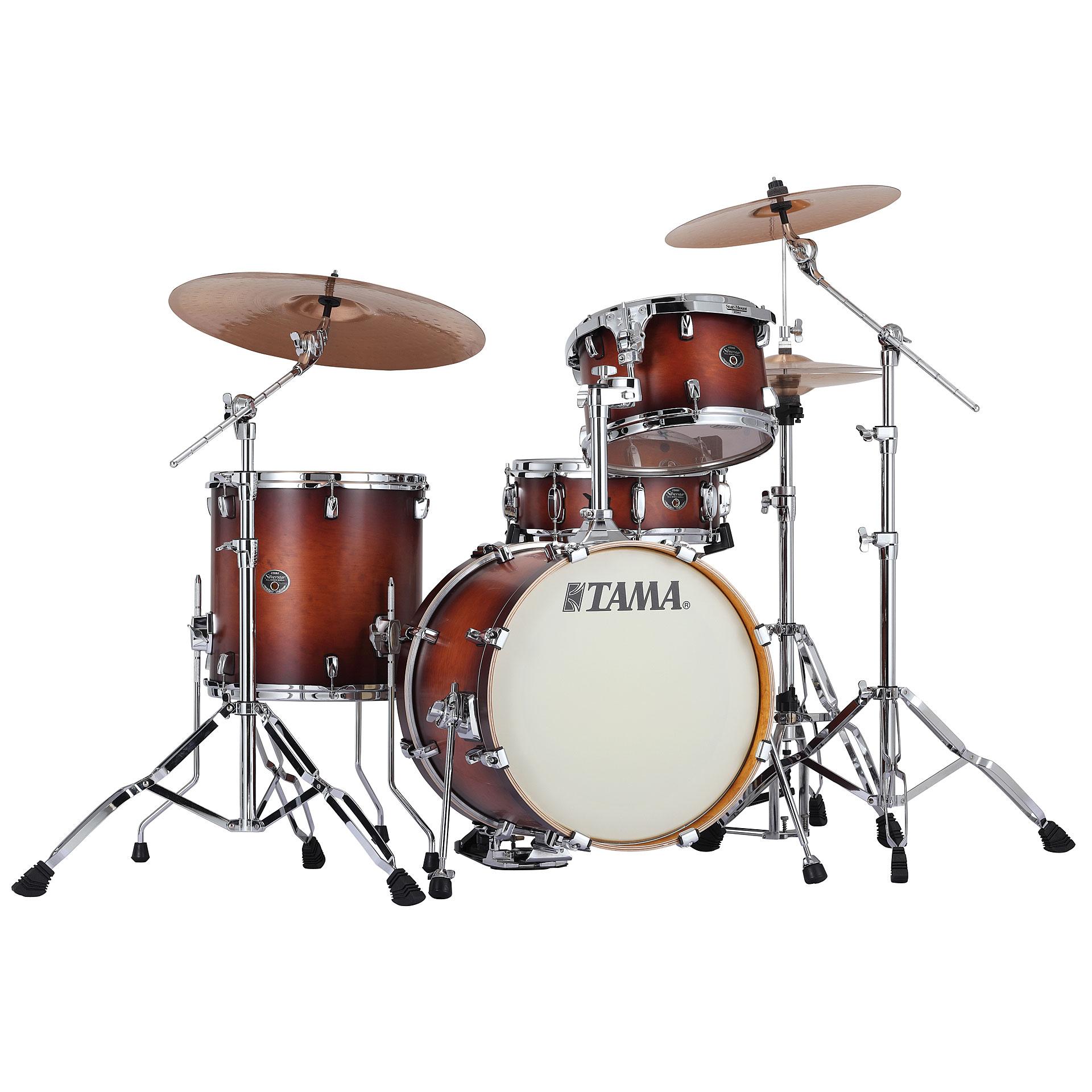 "Tama 18 Floor Tom: Tama Silverstar 18"" Antique Brown Burst « Drum Kit"