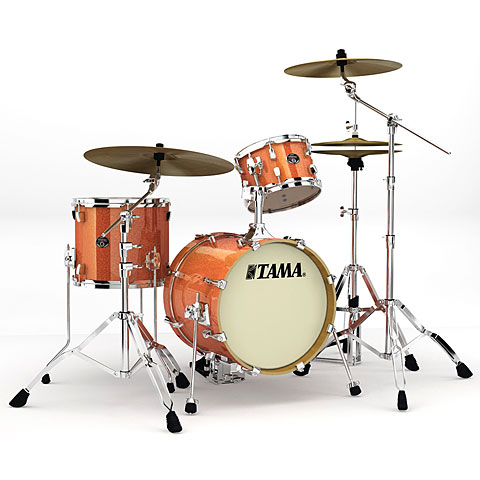 Tama Silverstar Metro Jam 16  Bright Orange Sparkle