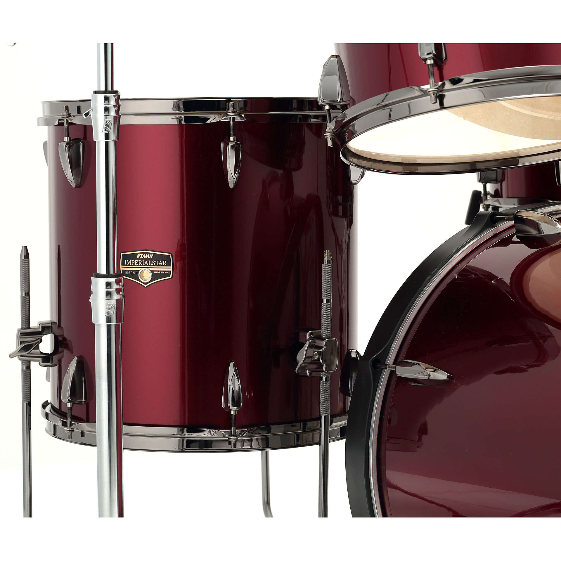 Tama imperialstar 20 vintage red drum kit for Classic house drums