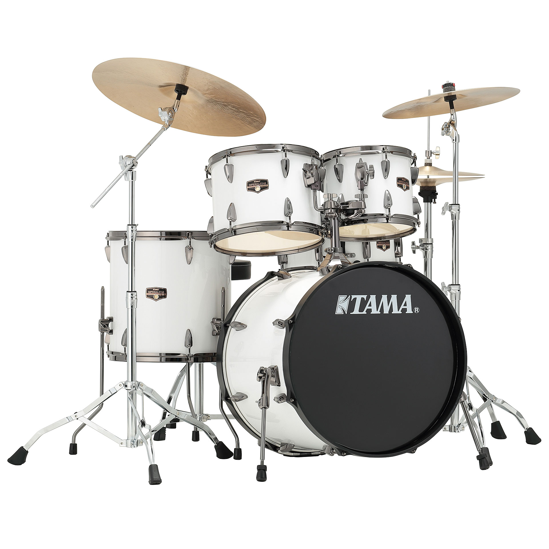 Tama imperialstar 20 sugar white drum kit for Classic house drums