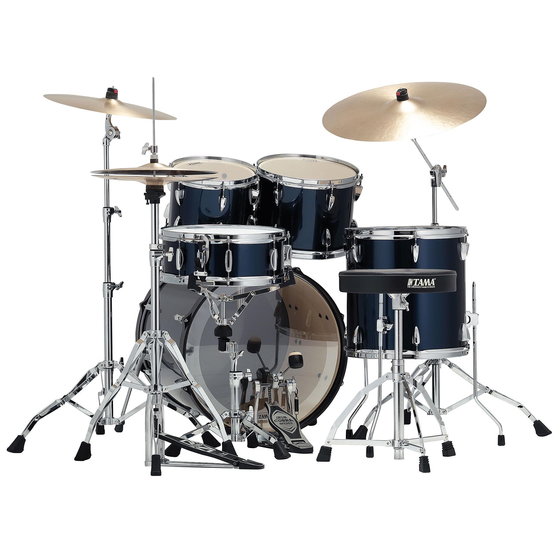 Tama Imperialstar 20 Quot Midnight Blue 171 Schlagzeug