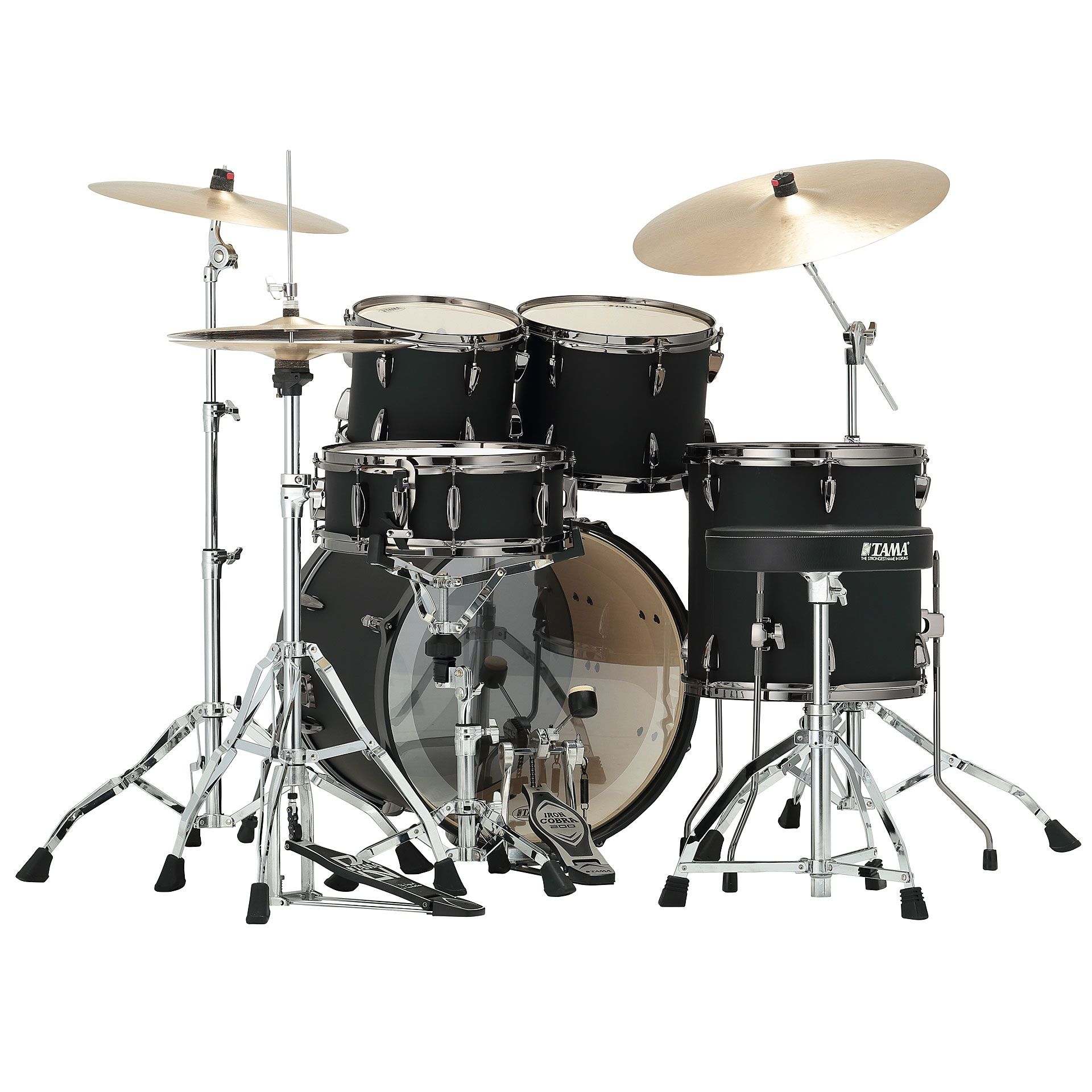 Tama Imperialstar 22 Quot Blacked Out Black 171 Schlagzeug