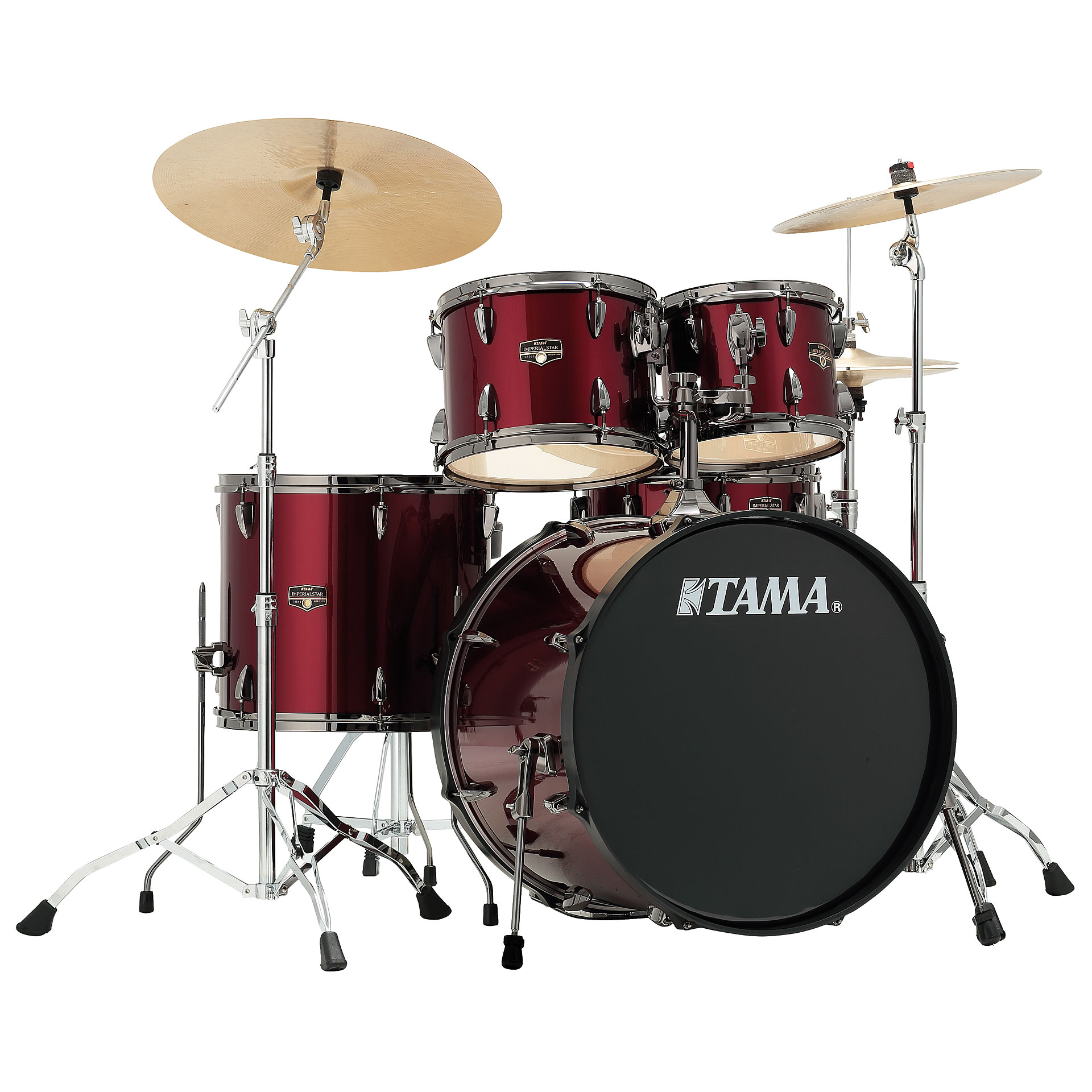 Tama Imperialstar 22 Quot Vintage Red 171 Drum Kit