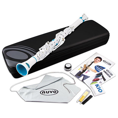 Nuvo Clarinéo Standard Kit white-blue