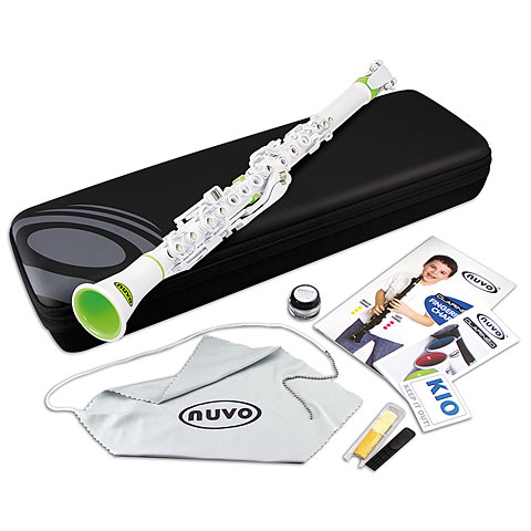 Nuvo Clarinéo Standard Kit white-green
