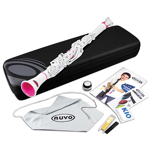 Nuvo Clarinéo Standard Kit white-pink