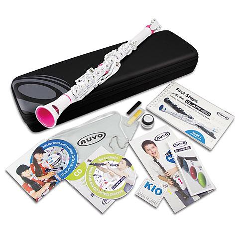 Nuvo Clarinéo Standard Kit white-pink Starter