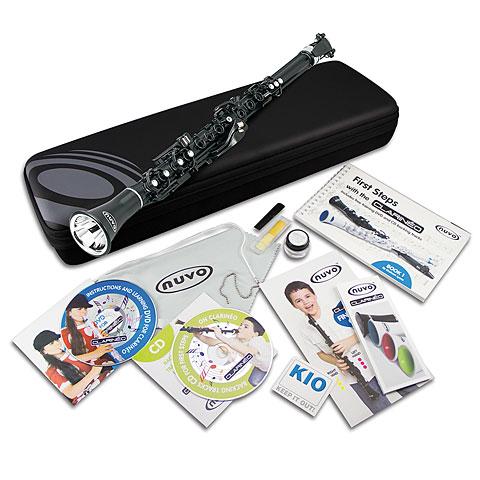 Nuvo Clarinéo Standard Kit Black Starter