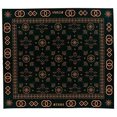 Tama Oriental Design Drum Rug