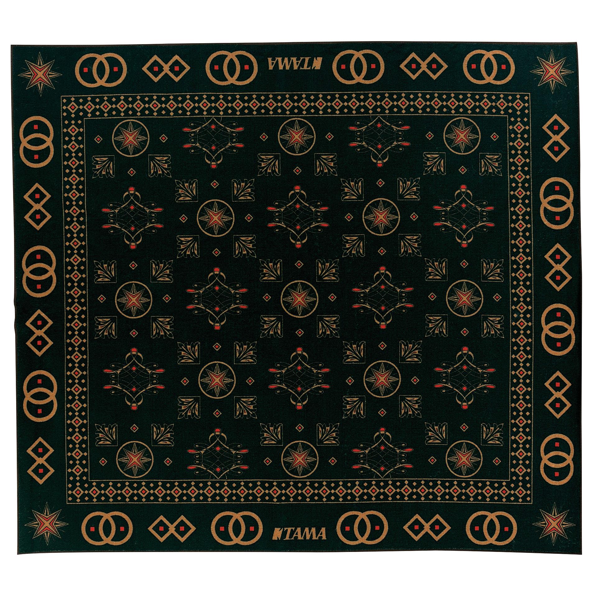 Tama Oriental Design Drum Rug Drum Zubehör