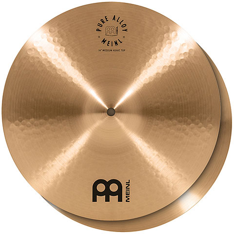 "Hi-Hat-Becken Meinl Pure Alloy 14"" Medium HiHat"