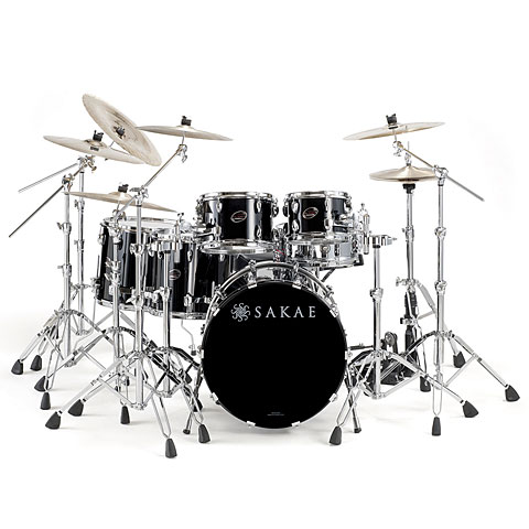 "Batterie acoustique Sakae Almighty Birch 22"" Real Black"