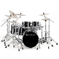 "Sakae Almighty Birch 22"" Real Black « Drum Kit"