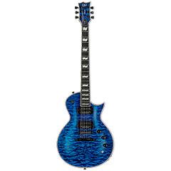 ESP LTD EC1000PIEZO QM STB  «  Guitare électrique