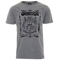 Orange T-Shirt Crest GREY L « Camiseta manga corta