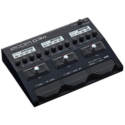 Multi-effets guitare électrique Zoom G3N