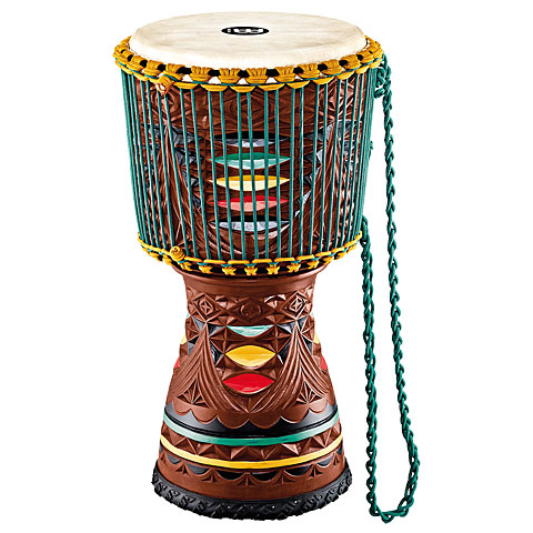 Meinl Artisan Edition 12'' Painted Carving Tongo Djembe