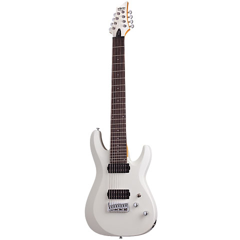 Electric Guitar Schecter C-8 Deluxe SWH