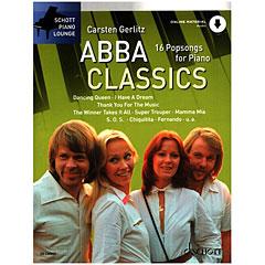 Schott Piano Lounge Abba Classics « Recueil de Partitions