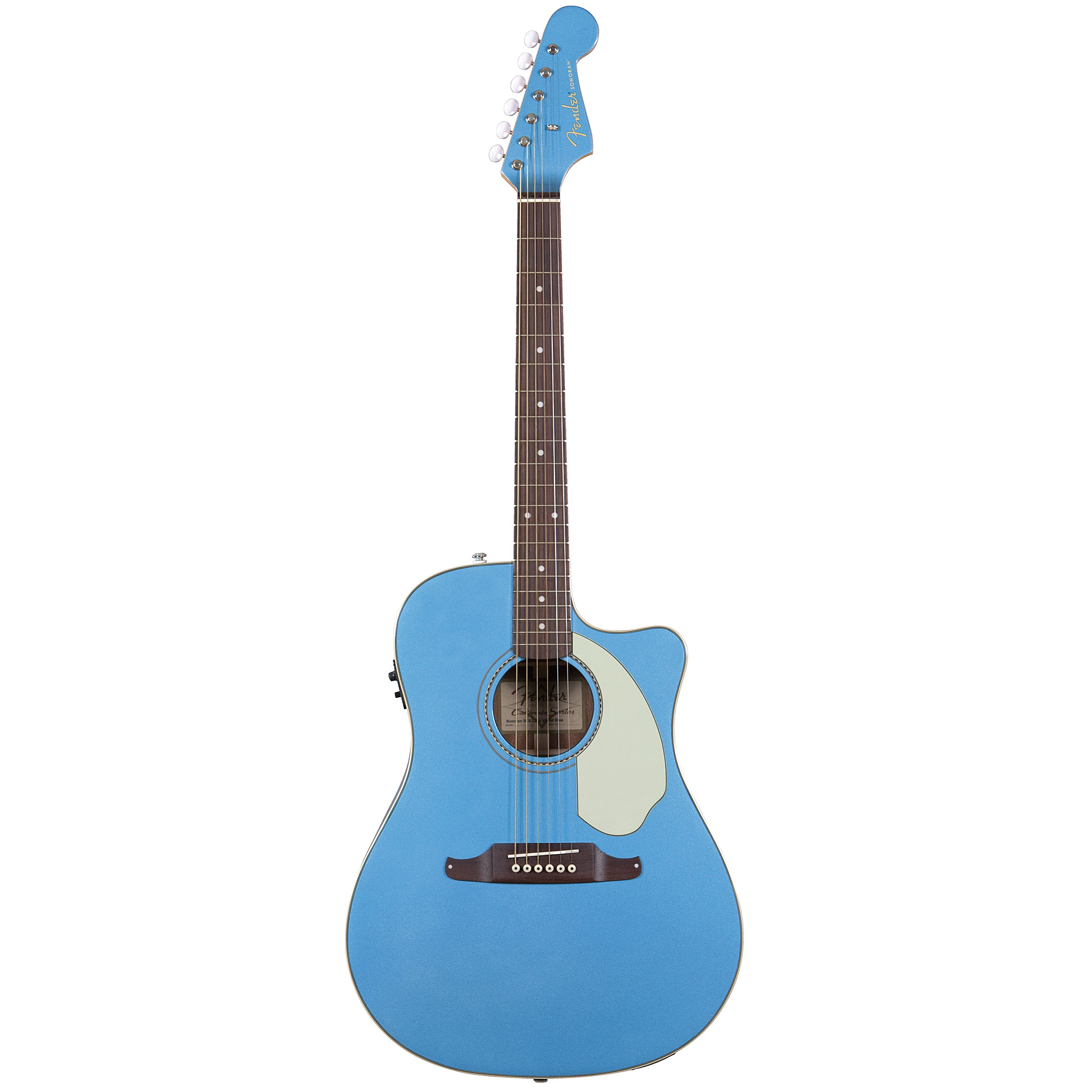 Acoustic Guitar Fender Sonoran SCE Lake Placid Blue