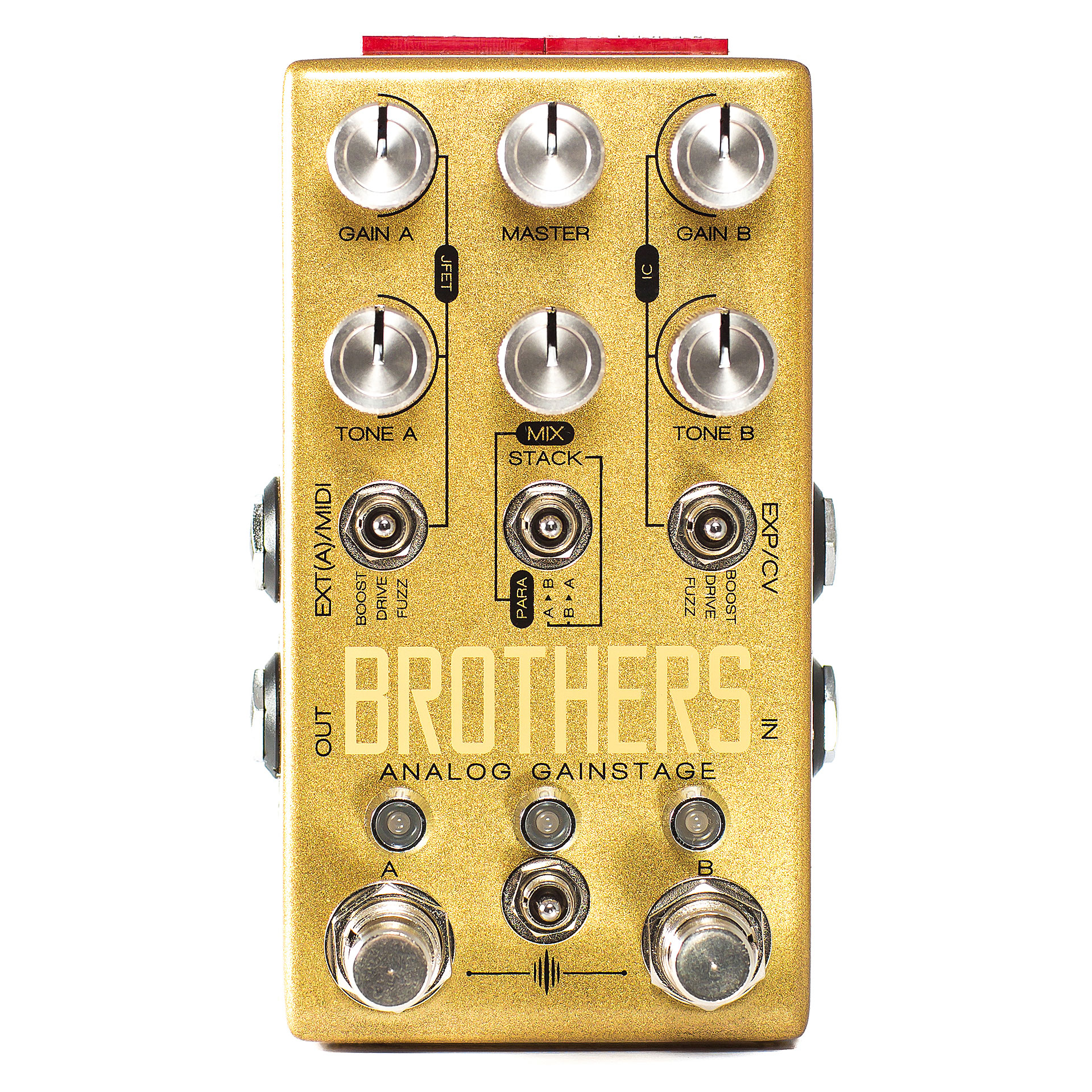 Chase bliss audio brothers guitar effect for Property brothers bliss